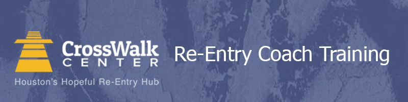 Re-Entry Coach Training